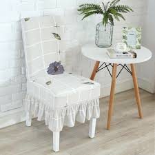 chair covers for home. High Qaulity Chair Cover With Skirt Colorful Spandex Clothes Fabric Dining Home Decoration Machine Washable Covers For R