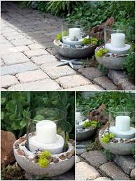 28 Highly Creative DIY Concrete Projects For Your Household homesthetics concrete  crafts (4)