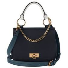 LOVE AND LORE HUNTER TOP HANDLE CROSSBODY BAG BLACK COMBO