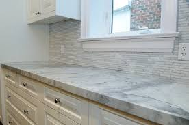 Small Picture Marble Looking Quartz Countertops NewCountertop