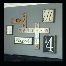 scrabble letters for wall oversized letters wall decor s large scrabble letters wall decor scrabble letters