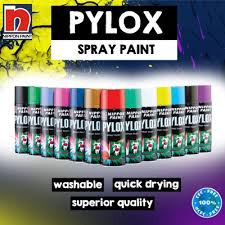 Aikchinhinnippon Pylox Spray Paint Solid Colours And Anti Rust Brown