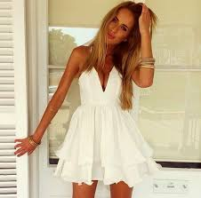 awesome short white summer dresses