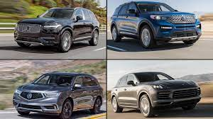 large hybrid suvs for 2020 which have