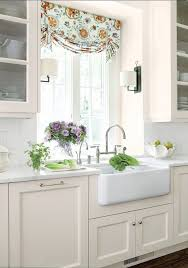 kitchen sink window treatments on kitchen and 8 ways to dress up the kitchen window without