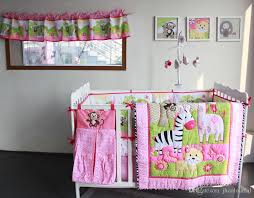 Active Printing Cotton Baby Girl Crib Bedding Set Cot Comforter Bumper Bedsheet Hot Sale Products Nursery Accessories Kids Full Sets