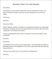 10 Sample Thank You Notes Sample Templates