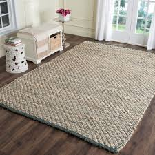 image is loading safavieh natural fiber jute natural blue area rug