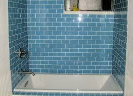 Shower Remodel Glass Tiles Best Bathroom Glass Tile Tub Subway