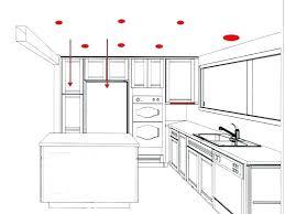 kitchen lighting plans. Astounding Kitchen Lighting Layout Can Light Plans Design E