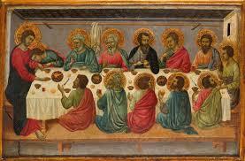 ascension communio last supper