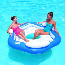 pool round raft. Contemporary Raft BESTWAY X3 ISLAND SWIMMING POOL LOUNGER FLOAT CHAIR On Pool Round Raft