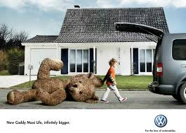 escape to nowhere print ad volkswagen advertising agency piment ddb paris creative directors axel roy remi gross art director matthieu chanvrin copywriters barthelemy flippo