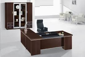 office room furniture design.  Office ABS Wooden Brown Director Office Table For Room Furniture Design