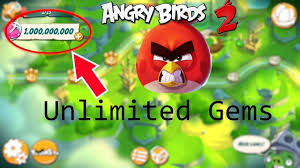 Angry Birds 2 Latest updated hack Mod Apk download unlimited Gems and un...    Angry birds, All angry birds, Birds 2