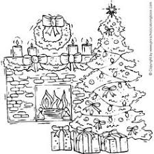 Small Picture Houses to Color and Print for adults CHRISTMAS VILLAGE coloring