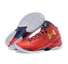 under armour shoes red and white. under armour stephen curry 2 shoes father and son red white