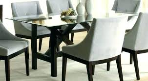 pastel effervescence round glass top dining table w black base from