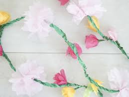 How To Make Flower Out Of Tissue Paper Accordion Tissue Paper Flowers How To Make Tulip Flowers Out