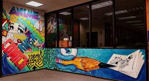 Graffiti Legends Mural DFW Library Texas