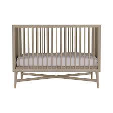 amazoncom  dwellstudio midcentury crib in french grey  baby
