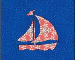 Sailboat quilt blocks paper pieced quilt pattern instant & Sailboat Pattern - Sailboat Quilt Block - Quilt Appliqué - Instant Download  - Block Pattern - Adamdwight.com