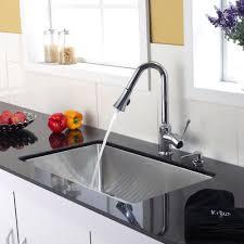 kitchen faucet set kraususa com kitchen faucet with soap dispenser s68