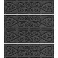 scroll stair tread cover set of 4