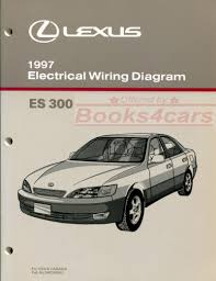 lexus manuals at com 97 es300 electrical wiring diagram manual 260 pages by lexus for es 300 97 ewd284u
