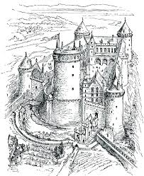 Coloring Pages Dragons Free Coloring Pages Of Castles And Dragons
