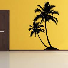 Palm Tree Bedroom Decor Painting A Palm Tree On Wall Janefargo
