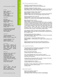 Resume Templates For Architects Najmlaemah Com