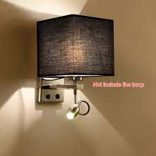 bedside wall lighting. High Quality Modern LED Cloth Wall Lamp Sconce Light Hallway Bedroom Bedside Hotels And Villa-in Indoor Lamps From Lights \u0026 Lighting On G