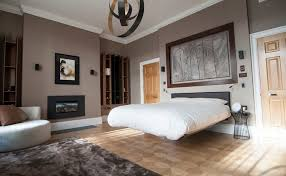 backer street bedroom with floating bed
