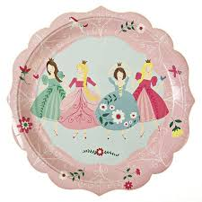 Princess Plates, Luncheon in 2018 | - ̗̀ Party ̖́