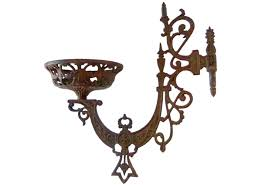 cast iron oil lamp sconce omero home