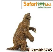 new safari megatherium plastic toy juric prehistoric sloth dinosaur pre young children