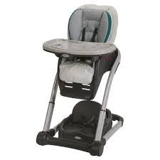 Graco Blossom 4 In 1 Seating System Convertible High Chair Sapphire