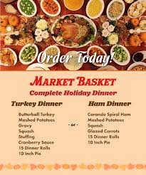 Zero menu planning, zero shopping and you still got to serve up cheesy sausage stuffing, roasted even the most prepared chefs can miss a few ingredients in the shuffle. Order Your Complete Thanksgiving Turkey Or Ham Dinner Today Market Basket