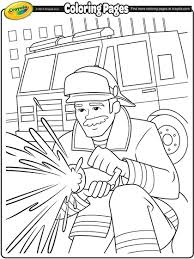 Small Picture Firefighter Coloring Page crayolacom