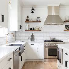 Kitchen ideas white cabinets Granite Countertops Huge Farmhouse Open Concept Kitchen Ideas Example Of Huge Country Ushaped Light Houzz 75 Most Popular Affordable Farmhouse Kitchen Design Ideas For 2019