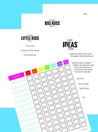 Click Thumbnail To View Full Size Chore Chart Maker Free Template ...
