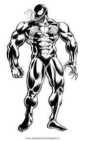 Spiderman Venom Da Colorare Idea Di Immagine Del Eroe