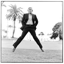 Image result for trump younger jumping up pic