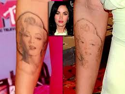 Megan Fox Removing Marilyn Monroe Tattoo Because Of Legendary