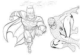 Spiderman Free Coloring Pages Klubfogyas