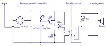 speaker circuit diagram ireleast info speaker protector electronic circuits and diagram electronics wiring circuit
