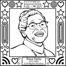 Small Picture Printable interactive Black History Month coloring pages Black