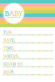 Baby Shower Templates For Word Attractive Free Baby Shower Invitation Templates For Word For 10