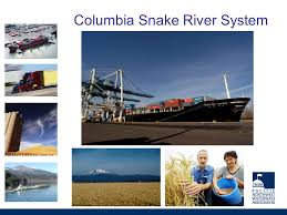 Columbia Snake River System Chart Columbia River Channel
